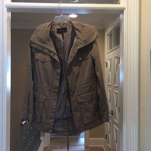 BCBGMaxazaria taupe jacket (hl)